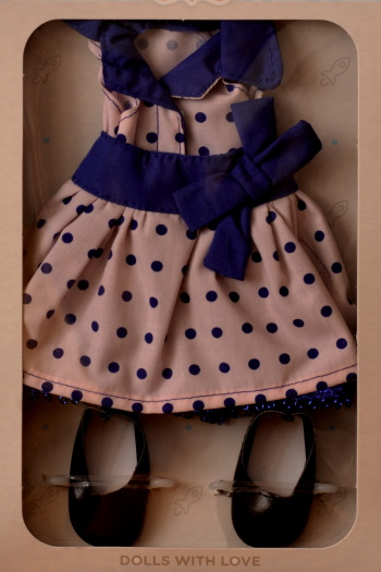 Sada na panenku Noemi 4506 (Obleček + boty)