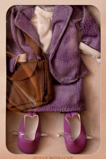 Sada na panenku 04607 Asistentku (Obleček + boty)