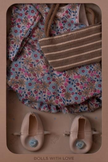 Sada na panenku Ritu 04622 (Obleček + boty)
