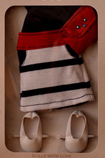 Sada na panenku Zairu 04504 (Obleček + boty)
