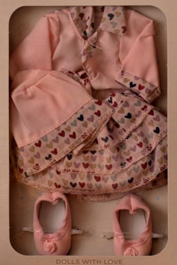 Sada na panenku Janet 04509 (Obleček + boty)