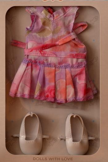 Sada na panenku 04510 (Obleček + boty)