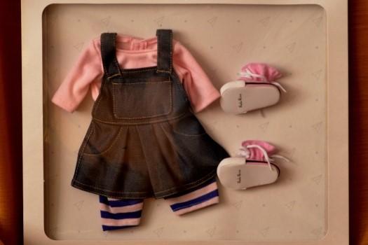 Sada na panenku Lis 6006 (Obleček + boty)